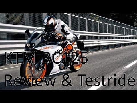 KTM RC125 Review & Testride!