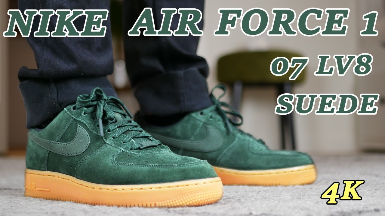 nike air force 1 07 lv8 suede review