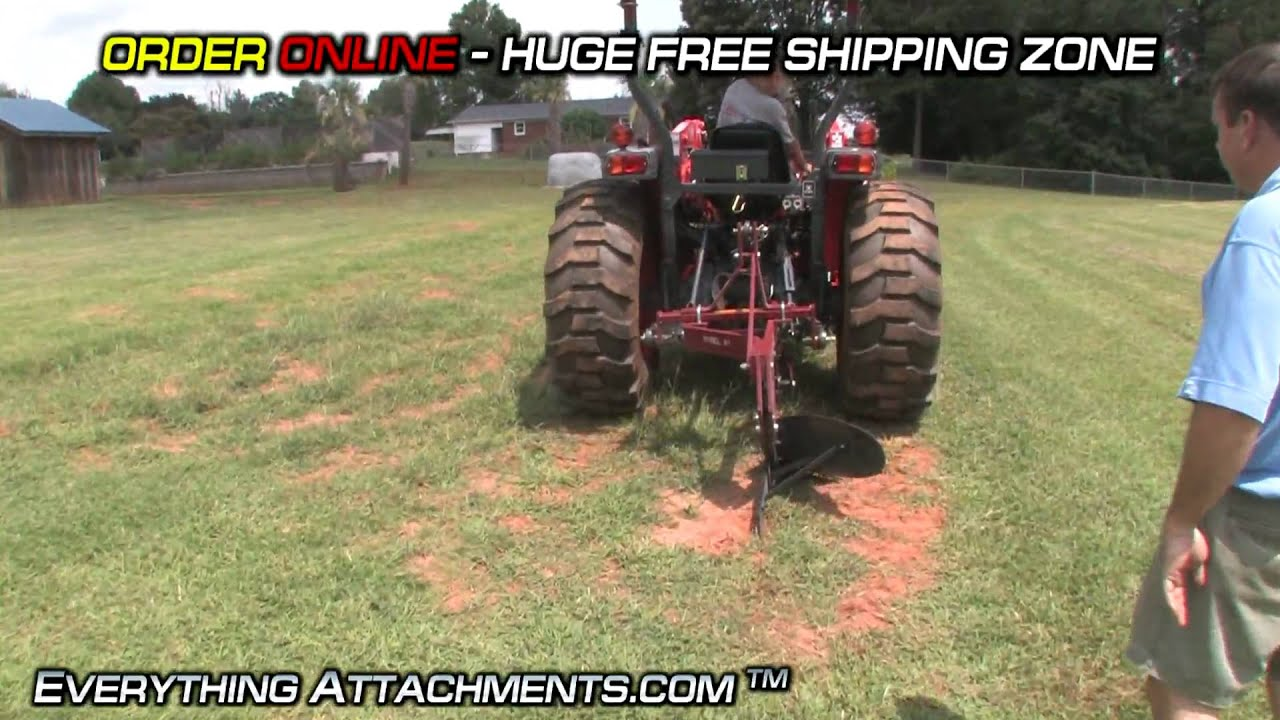 how to use a standard 12 one bottom plow