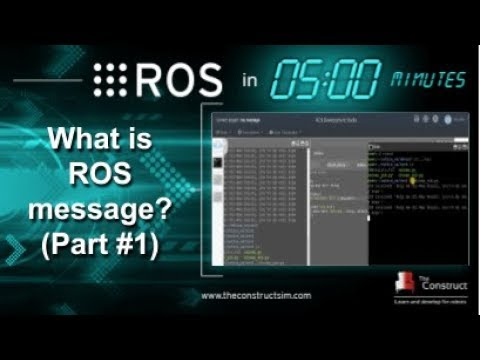 [ROS in 5 mins] 018 - What is a ROS message? Part#1