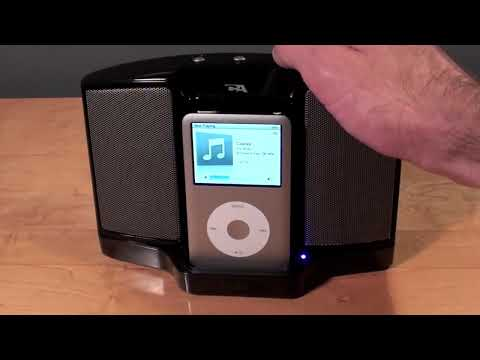 Cyber Acoustics iPod Speaker Dock CA-461: Unboxing & Review