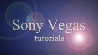 Sony Vegas Pro - 3D Text Reflection Tutorial