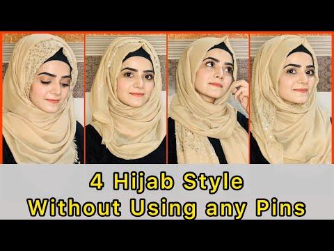 4 Easy Hijab Styles | Hijab Styles Tutorial | Dietitian Aqsa