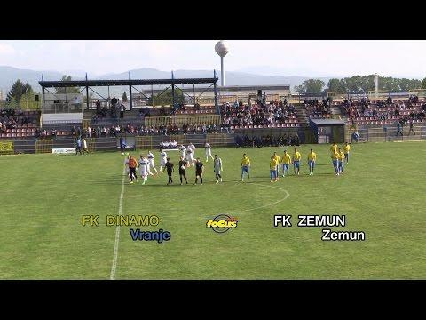 RTV focus VRanje   Fudbal   FK DINAMO  Vranje -  FK ZEMUN  Zemun   30042016