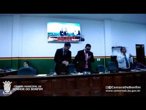 VEJA O RESUMO DA SESSÃO ORDINÁRIA DA CÂMARA MUNICIPAL DE SENHOR DO BONFIM DESTA QUINTA-FEIRA