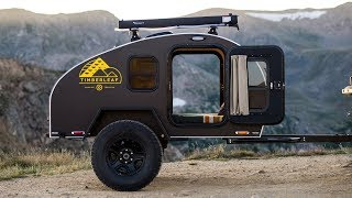 A Look Inside The OFF GRID Timberleaf Trailer