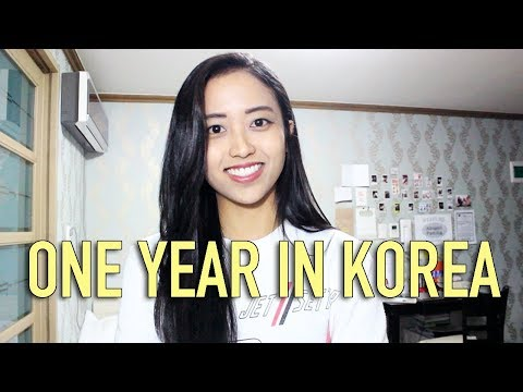 One Year Living in Korea