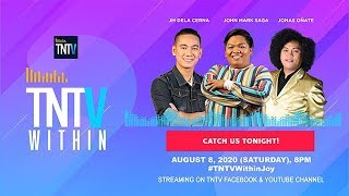 TNTV Within with John Mark Saga & JM Dela Cerna, Jonas Onate