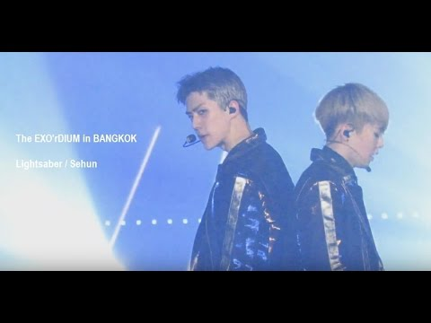 160910 The EXO'rDIUM in BANGKOK - Lightsaber (Sehun Focus)