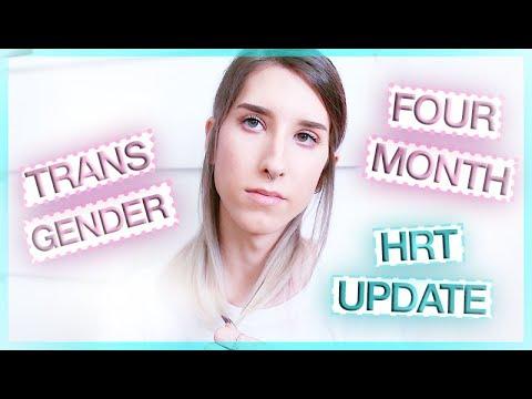 TRANSGENDER MTF | HRT UPDATE | 4 MONTHS