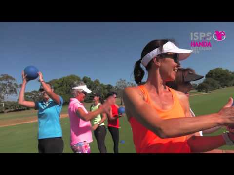 Try Swing Fit at the 2016 Women's Australian Open Golf