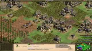 Aoe2: Black Forest Tips, Tricks, Strategies (4v4, Aztecs) (Part 1/2)