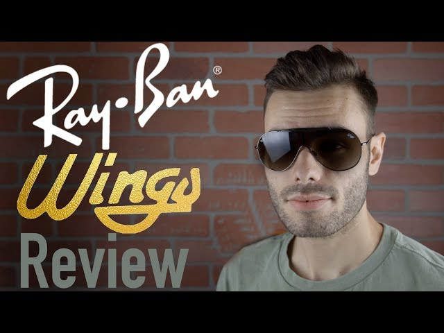 4a3fd76c53 Ray Ban RB3597 Wings Review
