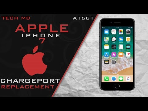 iPhone 7 Charge Port Replacement, Detailed, 64FPS
