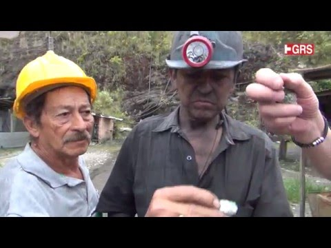 #GRS documentary: Colombian Emerald Mines - Sample Collection Chivor Mine