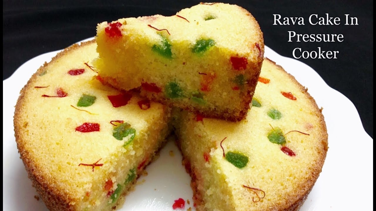 How To Make Rava Cake In Pressure Cooker