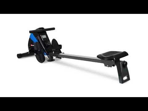 hop-sport-rudergerät-boost-ruderzugmaschine-mit-computer-&-magnetbremssystem-blau