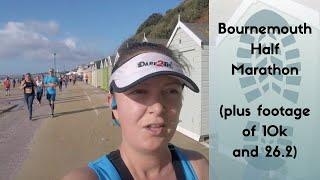 Bournemouth Half Marathon 2019   BMF half, 10k & 26.2 footage