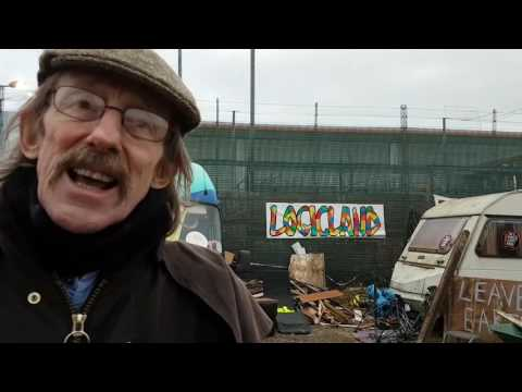 Interview with Bob Dennet  at PNR anti fracking camp.