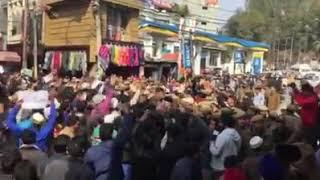 Asifa Case   Protestors demanding Judicial Enqu...