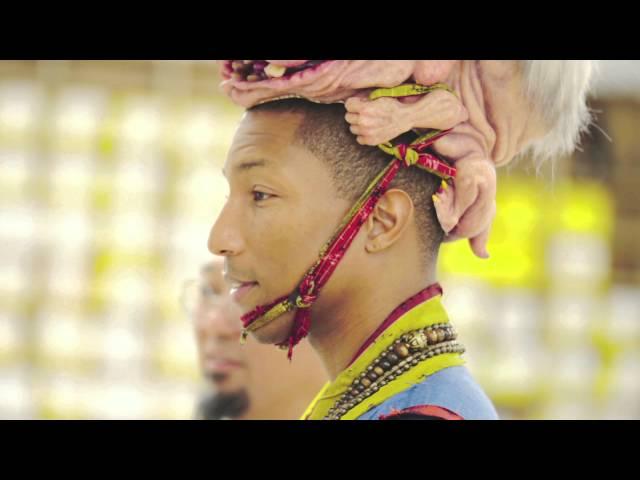 Pharrell Visits Takashi Murakami - The 500 Arhats