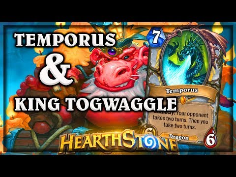 Temporus and King Togwaggle 🍀🎲 ~ Kobolds & Catacombs ~ Hearthstone Heroes of Warcraft 🍀🎲 ~ Kobol
