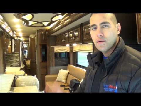 A Special Request 2017 Tuscany 38 SQ Walk Thru Video with Chad Rothrock at Total Value RV!