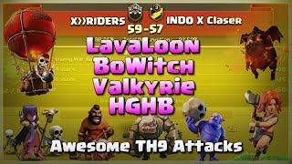 X RIDERS Vs INDO X Clasher | Top TH9 War Strategy | War Recap #02 | COC 2017 |