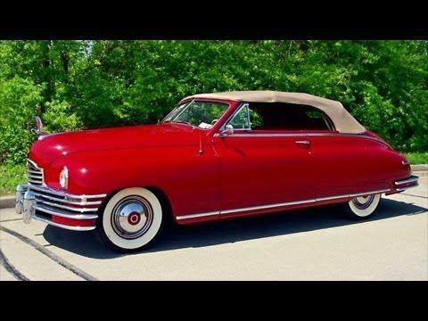 1948 Packard Super Eight Victoria Convertible