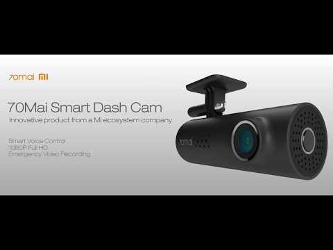 70Mai AI powered voice control smart dash cam