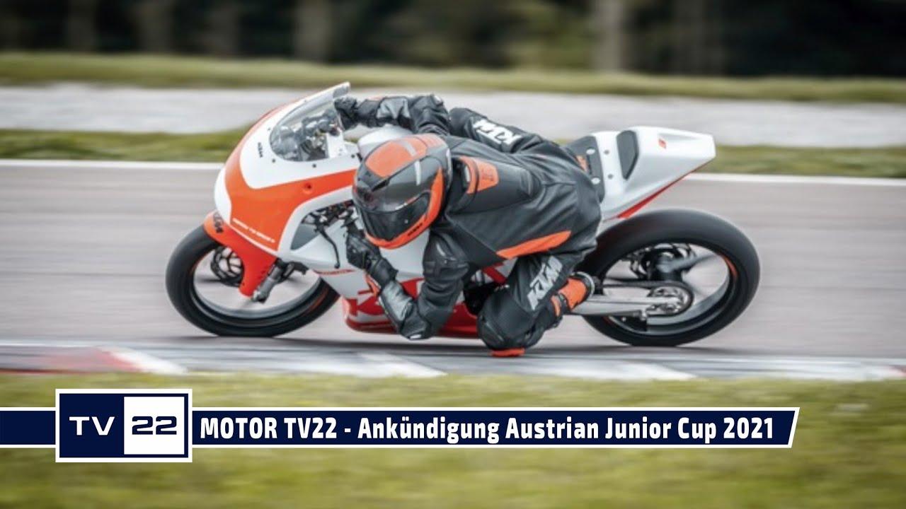 MOTOR TV22: Ankündigung Austrian Junior Cup 2021