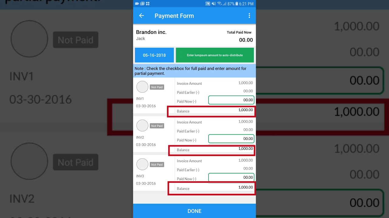 Payments Simple Invoice Manager Youtube