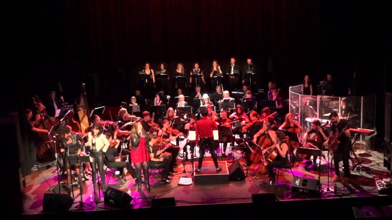 Rockin 39 robin seattle rock orchestra camila recchio for House music orchestra