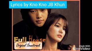 Video I Think I Love You full House OST English Karaoke download MP3, 3GP, MP4, WEBM, AVI, FLV Maret 2018