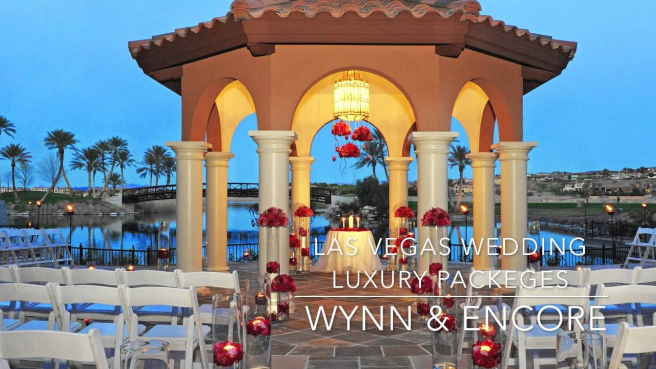LAS VEGAS LUXURY WEDDING PACKAGES MAY 2016