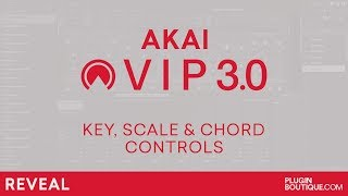 AKAI VIP 30 - Key Scale Chord Control Tutorial Review