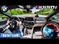 BMW 5 Series M550i xDrive G30 TOP SPEED Autobahn by AutoTopNL