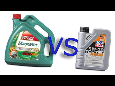 castrol magnatec 5w40 vs liqui moly 4200 toptec 5w30 longlife iii cold oil test 24 c youtube. Black Bedroom Furniture Sets. Home Design Ideas