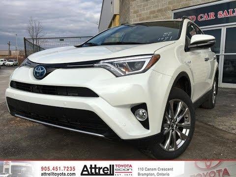2018 Toyota RAV4 Hybrid Limited Review Brampton ON - Attrell Toyota
