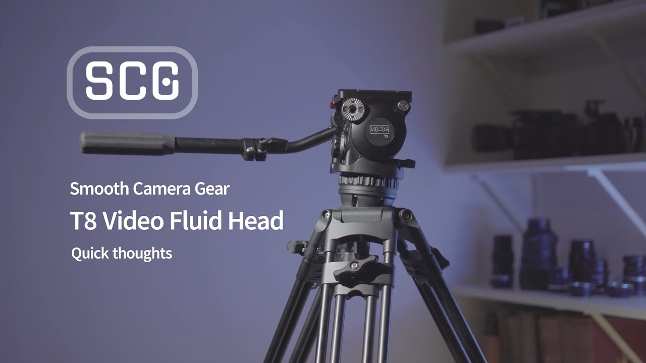 Smooth Camera Gear T8 Tripod Fluid Head Review - Quick Look