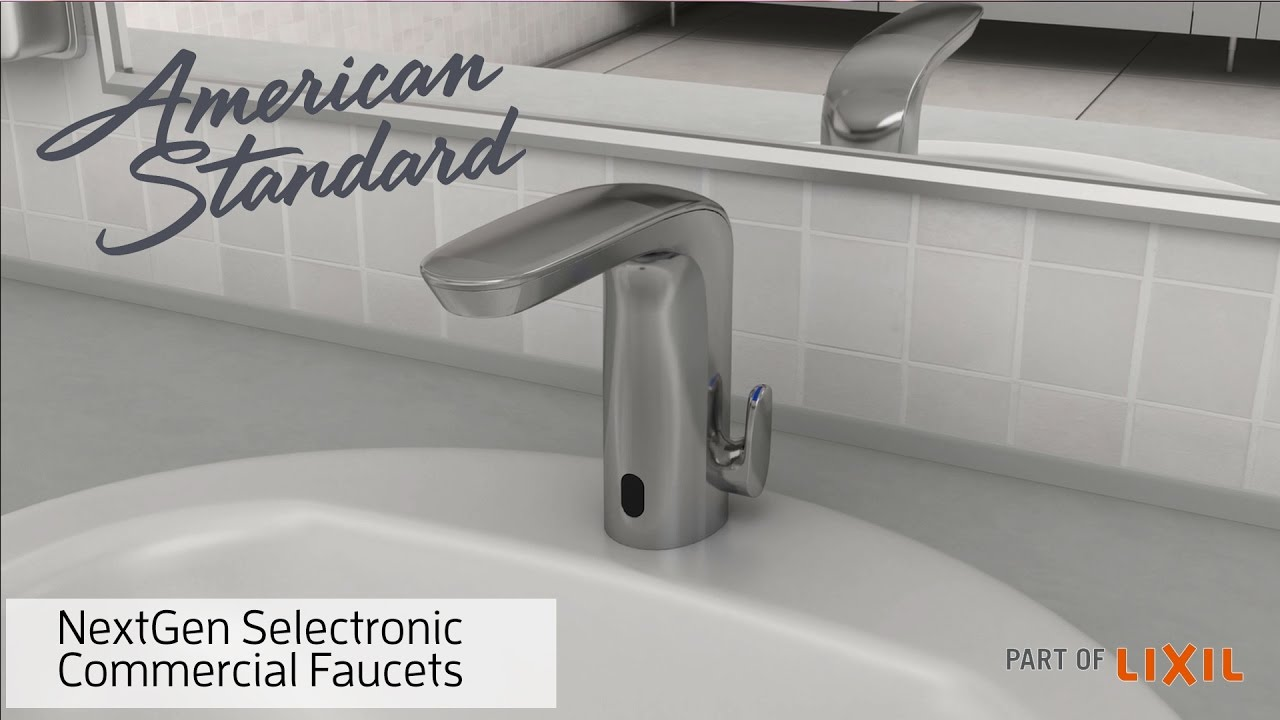 NextGen Selectronic Commercial Faucets - American Standard - YouTube
