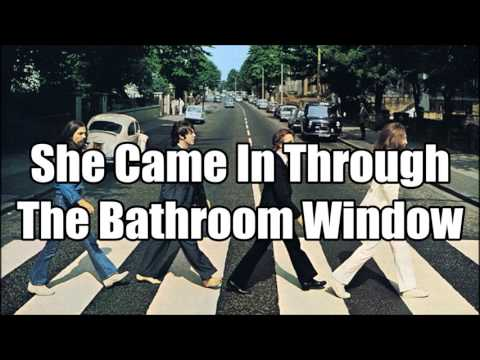 Клип The Beatles - She Came in Through the Bathroom Window