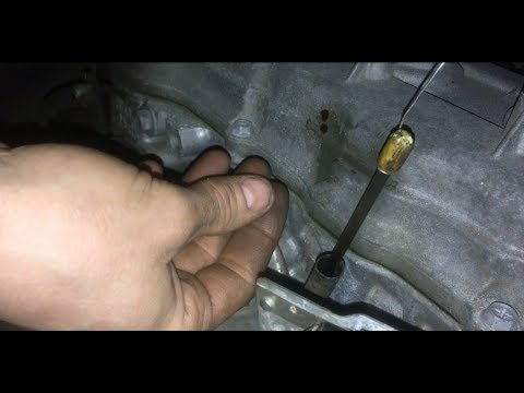 Broken Dipstick Removal with Wire (2005 Nissan Sentra)