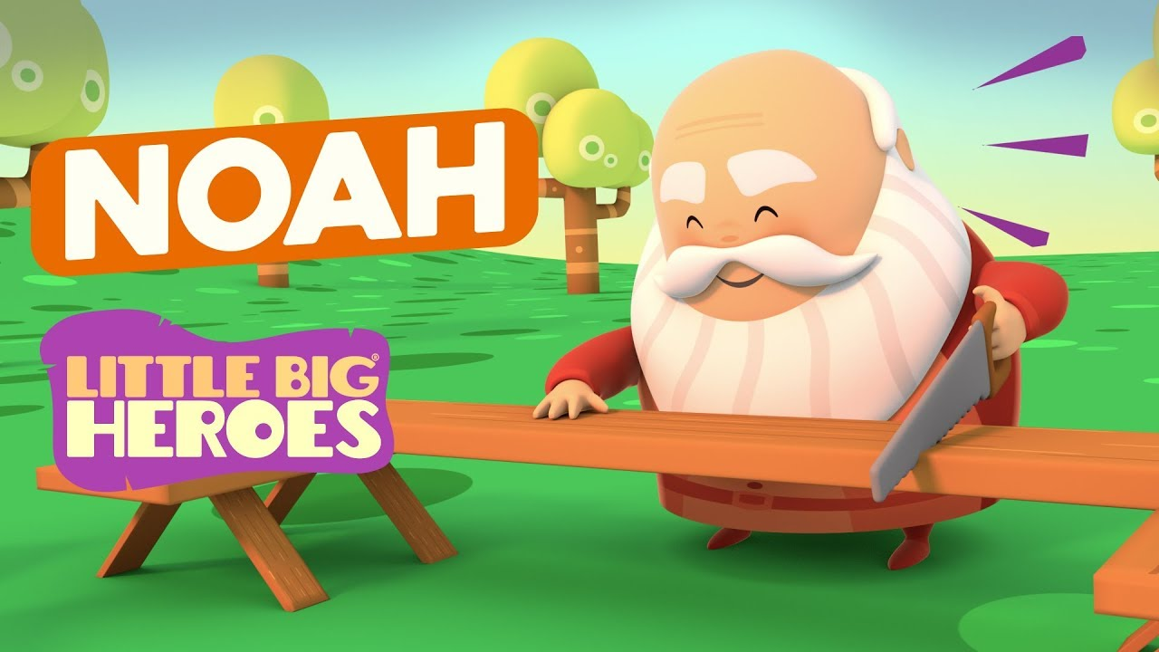 Noah - Bible Stories for Kids - Little Big Heroes