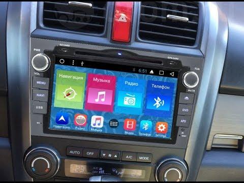 Штатная магнитола Honda CR-V (2006-2012) Android MR-8001