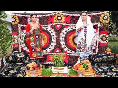 Массовые гуляния в Таджикистане по случаю праздника Навруз