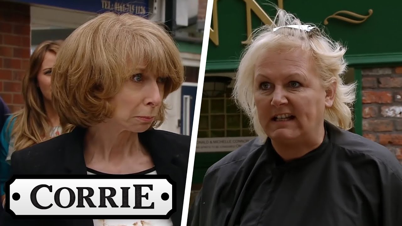 Gail and Eileen Fight in The Street | Coronation Street