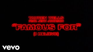 Tauren Wells, Jenn Johnson - Famous For (I Believe) [Official Lyric Video]