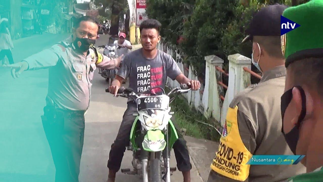 Tidak Hafal Pancasila, Pelanggar PPKM Mikro Dihukum Push Up