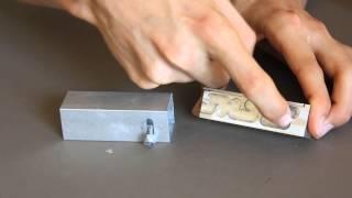 Homemade Metal Puzzle Box